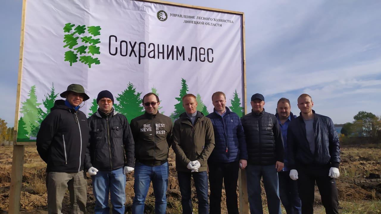 """БТИ Липецкой области на акции """"Сохраним лес"""""""