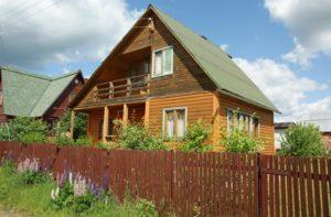 Дачный дом в собственность